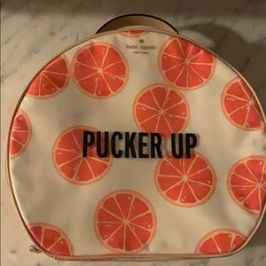 Kate Spade Pucker Up Makeup Case